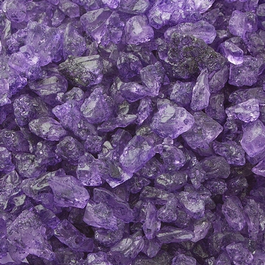 Purple Rock Candy Crystals