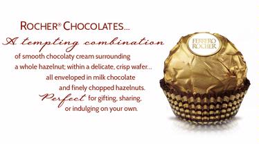 Ferrero Rocher Chocolate Truffle Gift Box - 12 Pc