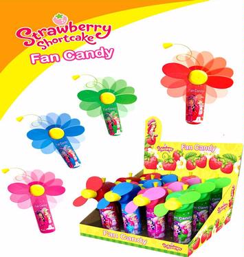 Strawberry Shortcake Candy Fans