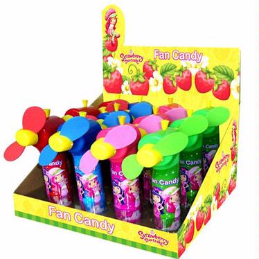 Strawberry Shortcake Candy Fans - 12CT Display Box