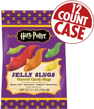 Harry Potter Jelly Slugs - 2.1 oz Bags - 12CT Box