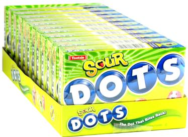 Sour Dots Candy - 12CT Case