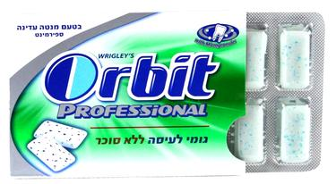 Orbit Professional Spearmint Gum Pellets