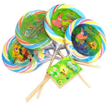Spongebob Lollipops - 30CT Case