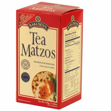Tea Matzoh Crackers