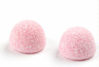Baby Pink Sour Gum Drops - Strawberry