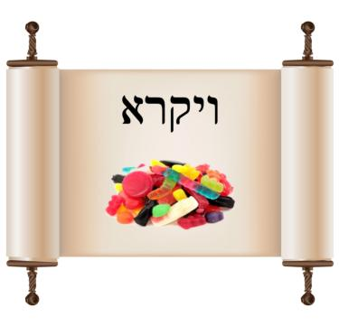 Parsha Candy Subscription - Chumash Vayikro - Jewish Educational Sweets