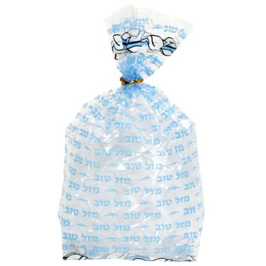 Blue Mazel Tov Bags Cellophane Party Bags Party