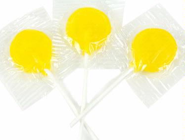 Yellow Lollipops - Lemon