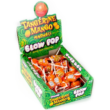 Blow Pop Tangerine Mango Madness