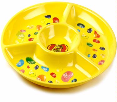 Jelly Belly Yellow Melamine Chip