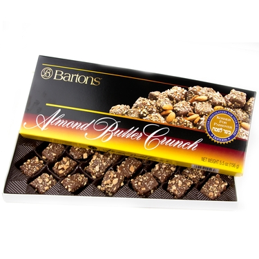 Bartons Almond Butter Crunch Chocolates - 8 OZ Box