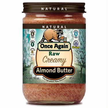Smooth & Creamy Raw Almond Butter