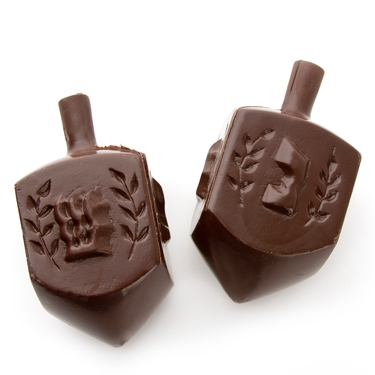 Belgian Dark Chocolate Dreidel