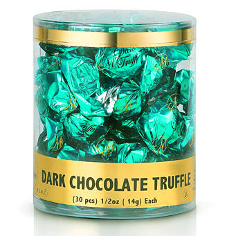 Twist Wrap Dark Chocolate Truffles - 30CT Tub
