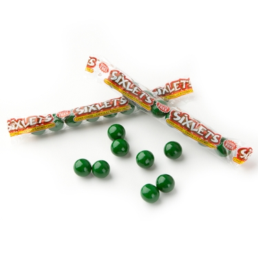 Wrapped Dark Green Sixlets