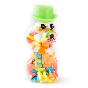 Dog Bottle with Cowboy Hat