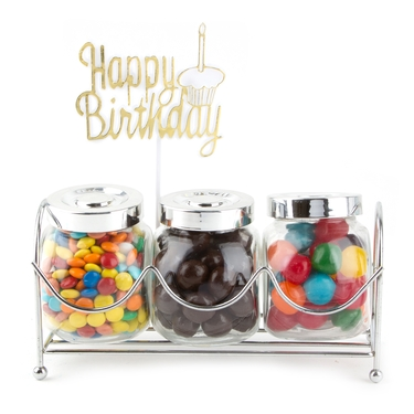 Old Fashioned Jars - Rainbow Candy