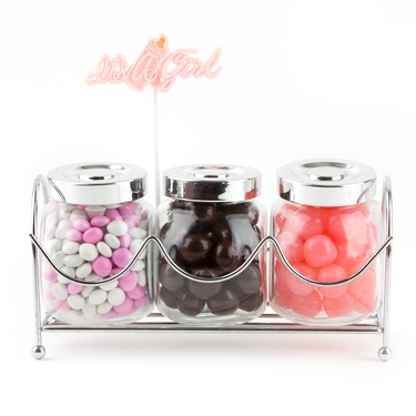 Old Fashioned Jars - Pink Baby Girl