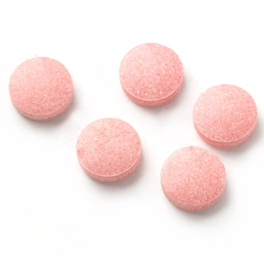 Light Pink Sweet Tart Candy Discs - Pink Lemonade