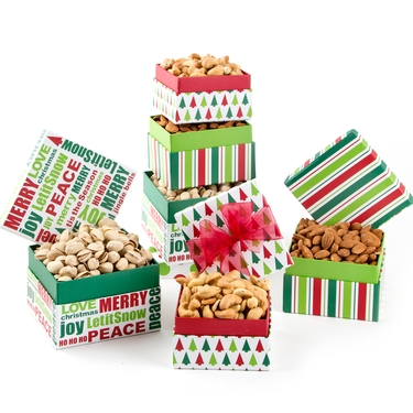 Holiday Gourmet Nuts Gift Boxes