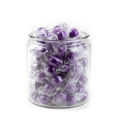 Wrapped Purple Gumballs