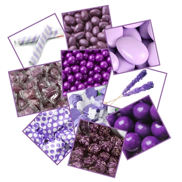 Purple Candy Sampler