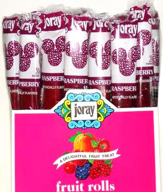 Raspberry Fruit Roll - 48CT Display Box