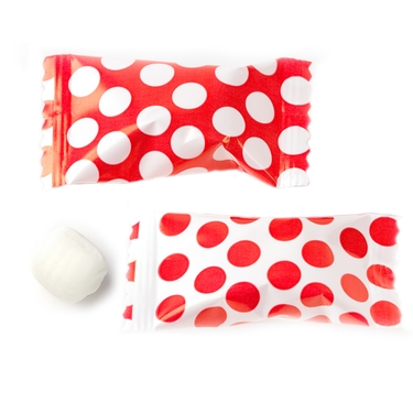 Red Dots Butter Mints