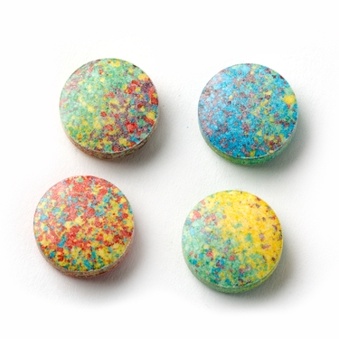 Assorted Sweet Tart Candy Discs - Dyed