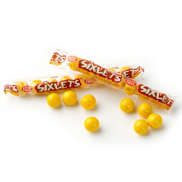 Wrapped Yellow Sixlets