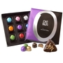 DECADENT - Oh! Nuts 9pcs Hazelnut Truffle Box W/ Chocolate Dipped Hamentaschen