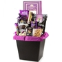 Purim Large Leather Basket