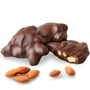 Dark Chocolate Caramel Almond Cluster