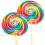 10-Inch Rainbow Whirly Pop - 3 oz