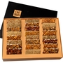 Oh! Nuts Hand Made Gourmet Nut Brittle Variety Gift Box - 24CT