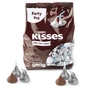 Silver Milk Chocolate Hershey's Kisses - 40 oz Party Bag