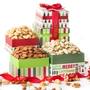 Holiday Gourmet Nuts Gift Tower