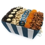 Chanukah Striped Basket