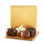 Godiva Gold Favor Chocolate Truffle Box - 4 Pc.