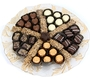 Elegant Glass Chocolate Gift Tray