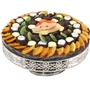 Tu B'Shvat Silver Plated Cake Stand