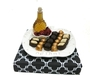 Creramic Pearlized Rosh Hashanah Arrangment - Israel Only