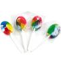 Colorful Rainbow Lollipops