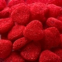 Jelly Belly Red Raspberry Jelly Hearts