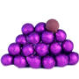 Purple Foiled Milk Chocolate Balls