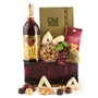 Grapevine Wood And Metal Gift Basket