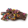 Handmade Belgian Chocolate Bark with Rainbow Chocolate Chip
