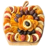Fresh Dried Fruit Apple Wooden Colapsable Fruit Bowl