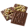 Oh! Nuts Mixed Dark Chocolate Bark Square